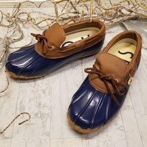 Sporto Original Daria Blue Classic Duck Boot Sz 7